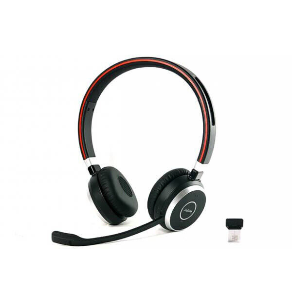 Jabra Evolve 75 Ms Duo Wireless Bluetooth Headset: Jabra Evolve 65 MS Wireless Stereo Headset