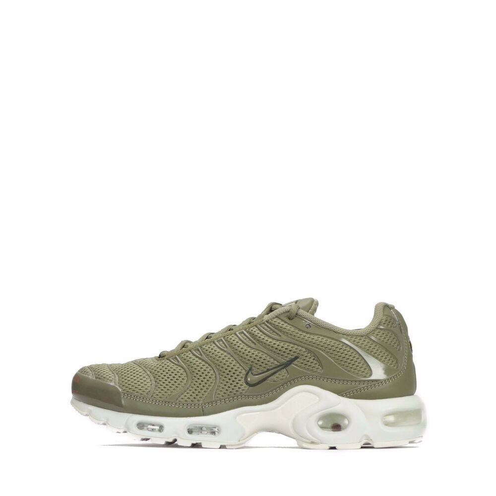 35cc4ad25ca Details about Nike Air Max Plus Breeze TN 1 Tuned Men s Shoes Trooper White
