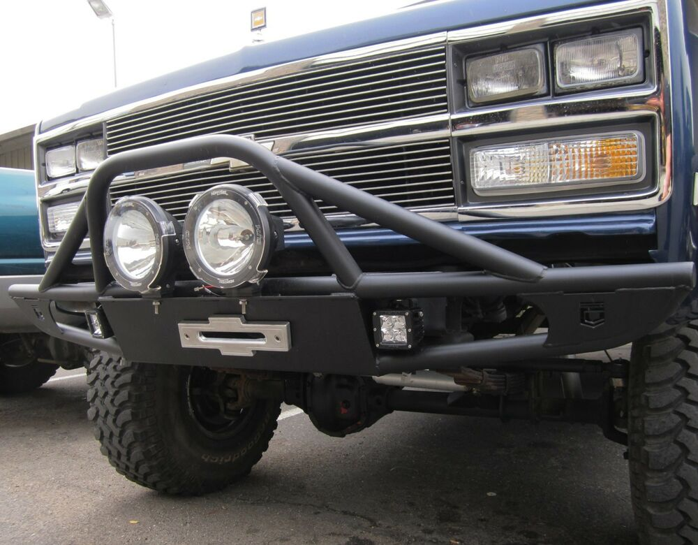 Off Road Front Winch Bumper Fits Chevy Gmc K5 Blazer