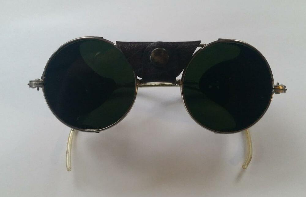 f08338ef10 Details about Vintage American Optical B4H Steampunk Motorcycle Sunglasses  ~ FREE SHIPPING!