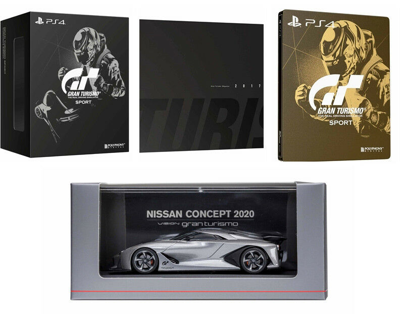 Ps4 Gran Turismo Sport Collector S Edition Chinese English Version 2017 Gt Ebay