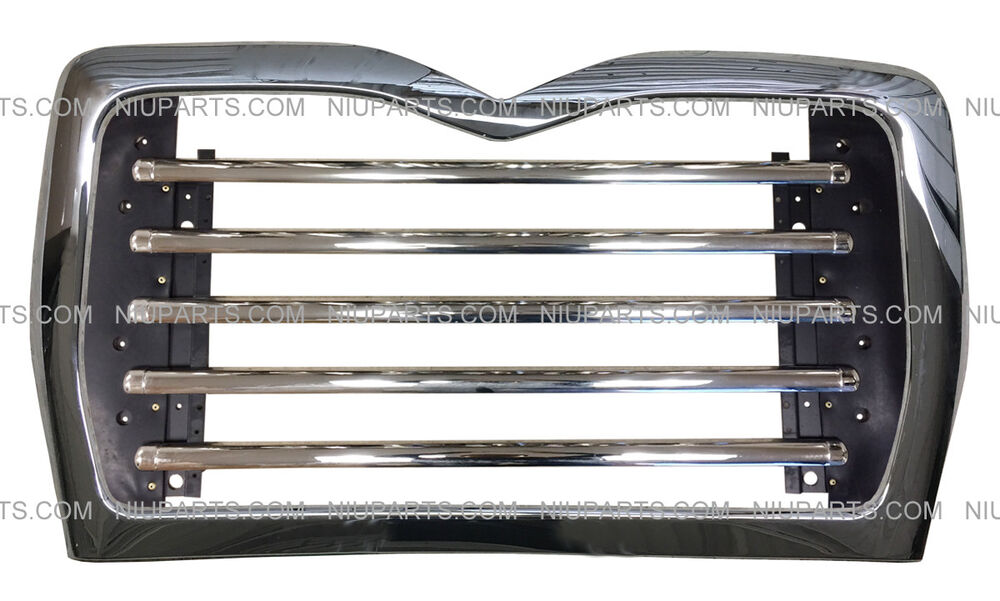 metal grille with surround chrome  fit  mack cv 713 grantie t  a truck