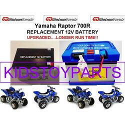 Kyпить Yamaha Raptor 700R OEM REPLACEMENT 12V BATTERY LONGER RUN TIME THAN ORIGINAL!!! на еВаy.соm