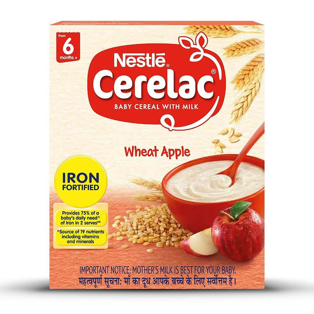 Nestle Cerelac Fortified Baby Cereal With Milk, Wheat