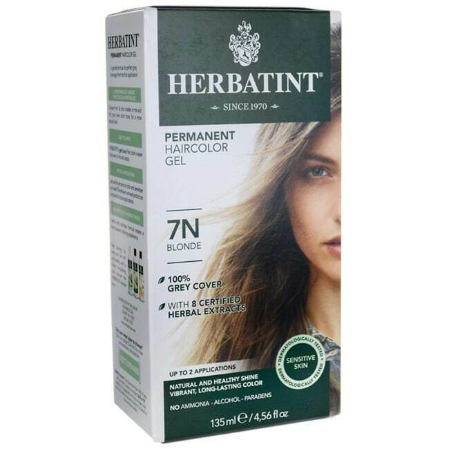 Herbatint Permanent Haircolor Gel 7N Blonde 1 Box 666248001065 | eBay