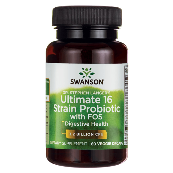 Swanson Dr. Stephen Langer's Ultimate 16 Strain Probiotic with Fos