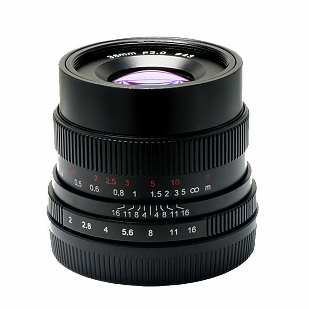 Details about 7artisans 35mm f/2 manual focus lens for Micro 4/3 mount  Olympus OM-D Panasonic