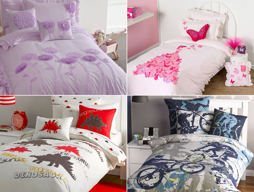 Details About Kids Bedding Sets For S And Boys Contemporary Bed Linen High Quality