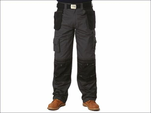 Apache - Black & Grey Holster Trousers Waist 32in Leg 33in