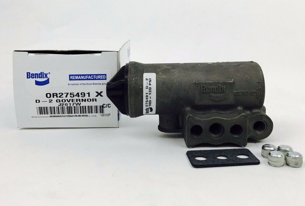 Or275491x D 2 Governor For Air Brake Compressor By Bendix
