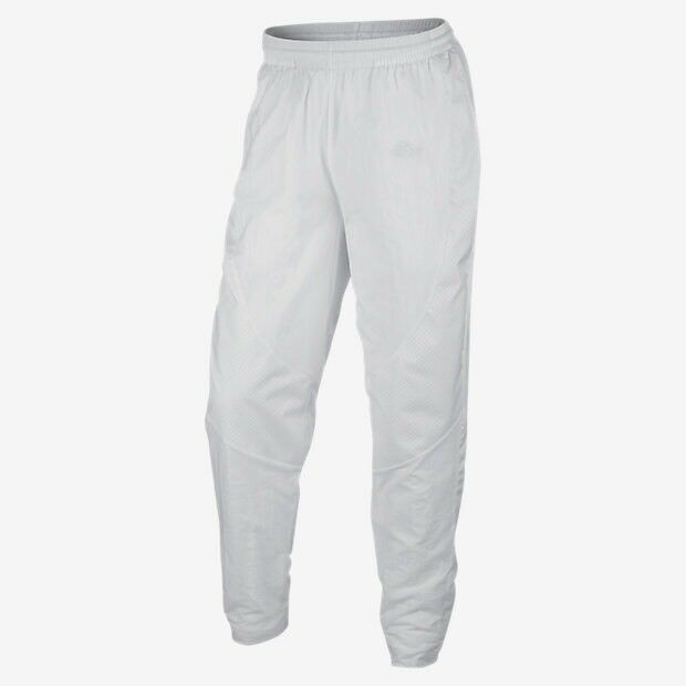 c7f468203892 Details about Nike AIR JORDAN Wings Woven Athletic Pants 843102 100 White  Mens