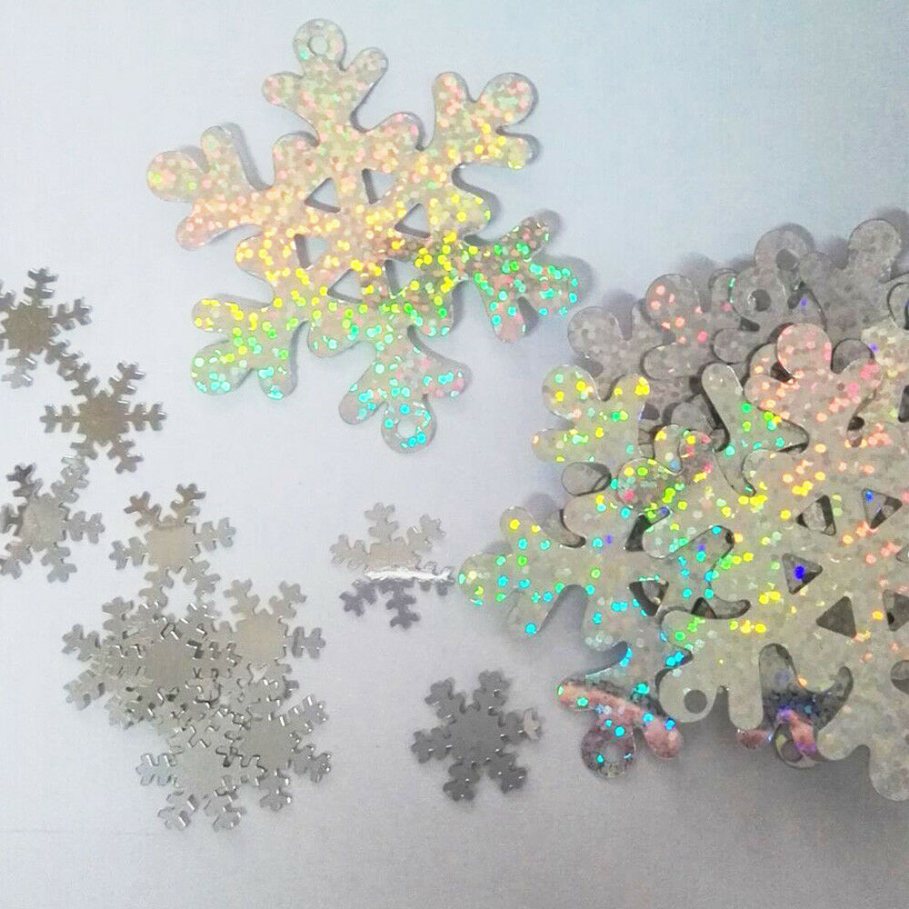 Table Snowflake Confetti Ornaments Sprinkles Christmas Wedding Party