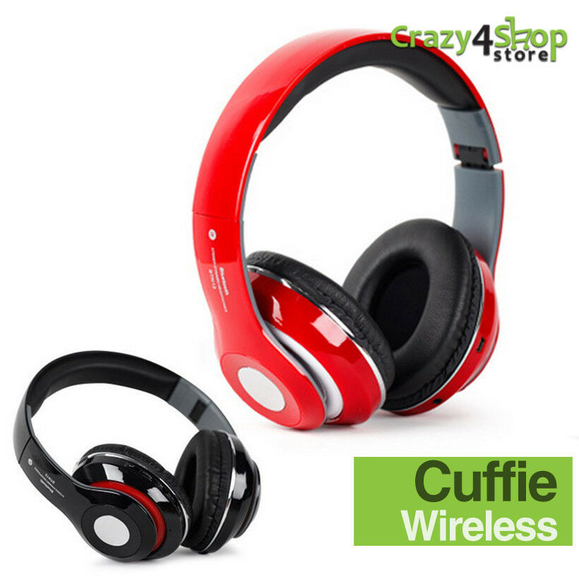 Cuffie bluetooth cuffia wireless MP3 con radio FM slot micro SD cellulare  iphone a0680a61c916