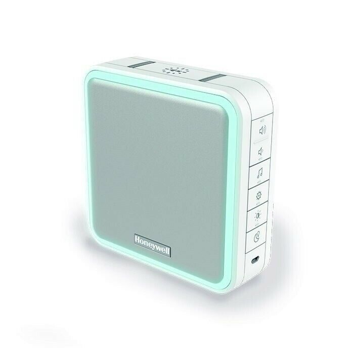 Honeywell Wired or Wireless Dual Purpose Chime unit, White, Model ...