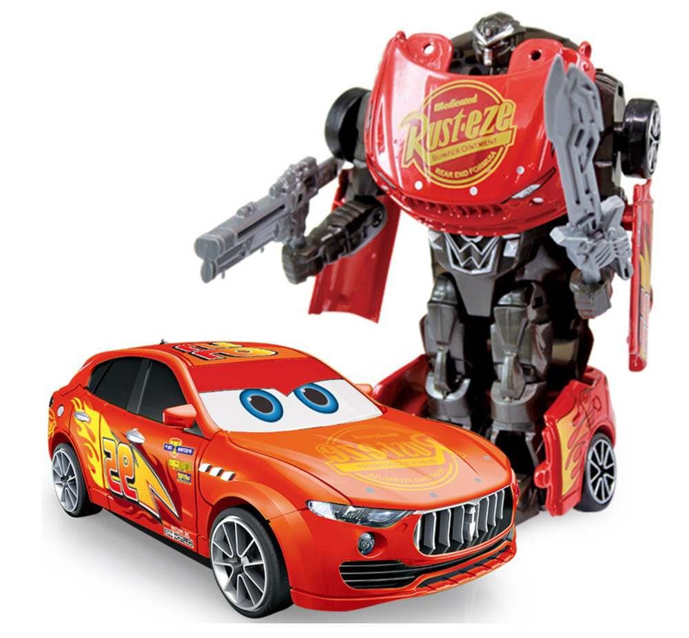 Cars Transformers Action Figure Model Robot Toy Transform