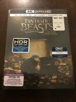 Fantastic Beasts and Where to Find Them Steelbook (4K Ultra HD + Blu-ray)