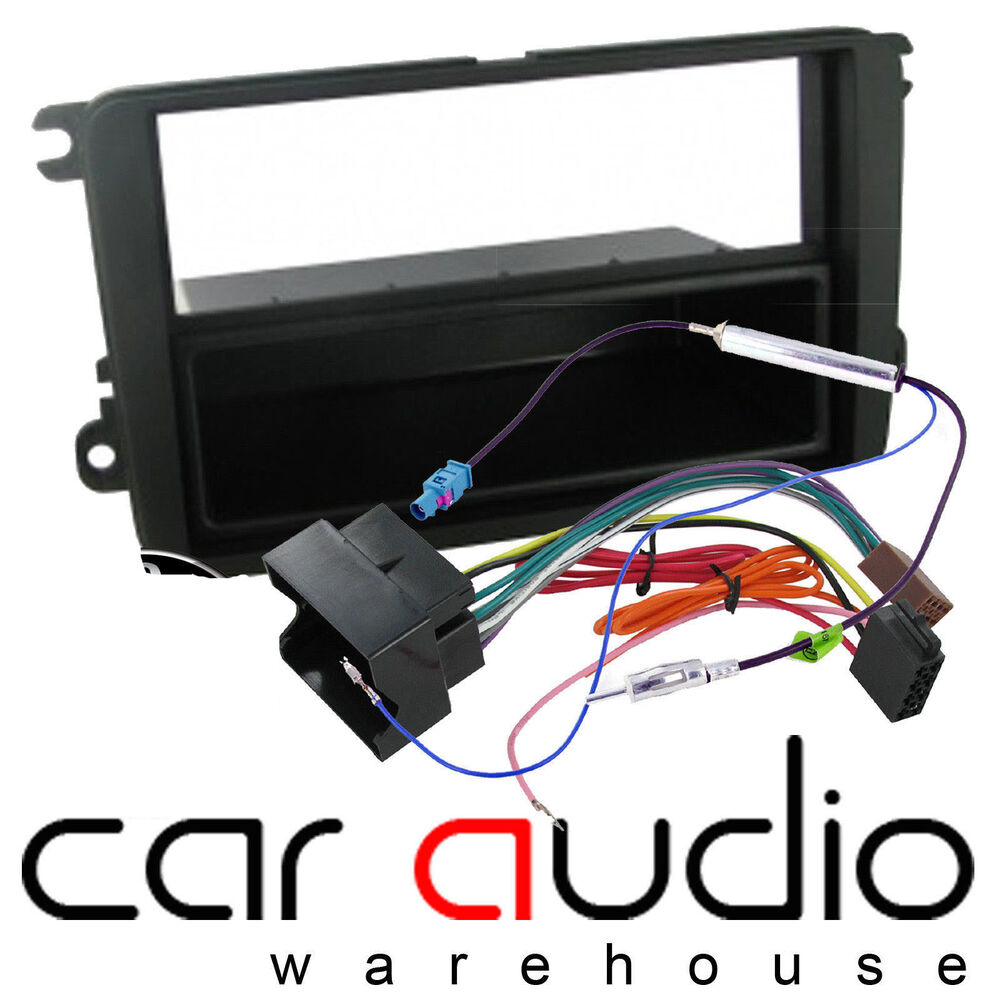 Ct24vw03 Skoda Rapid 2012 On Car Stereo Single Din Fascia Panel Fuse Box Fitting Kit Ebay