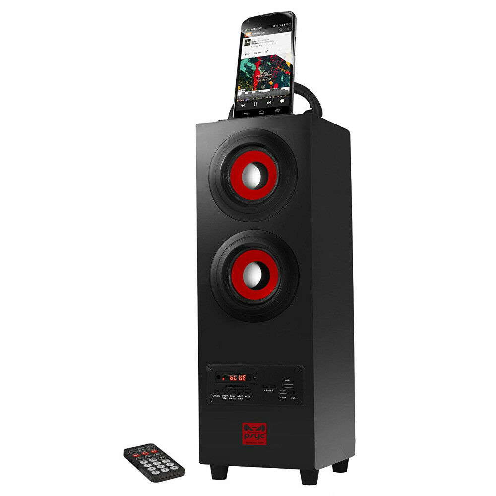 New Big Tower Speakers Stand Smartphone Wireless Bluetooth