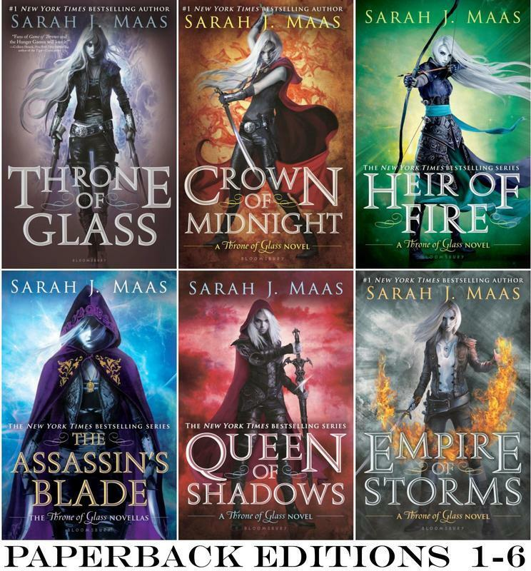 Throne Of Glass Book 1