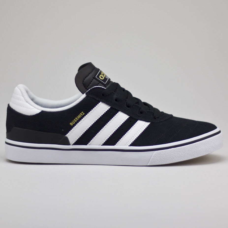 on sale 296c9 012aa Adidas Busenitz Vulc Skate Trainers Shoes Brand new in box Black UK Size  6-12
