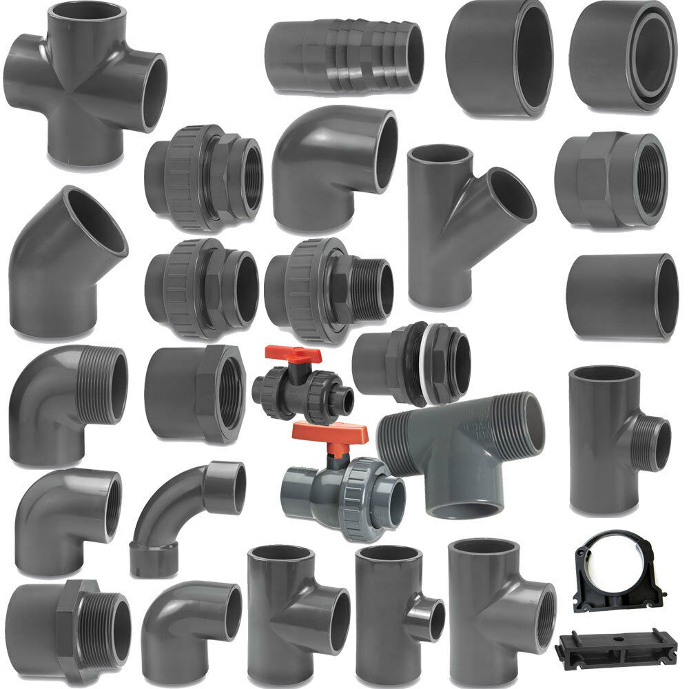 Vdl Metric Grey Pvc Pressure Pipe And Fittings 50 Mm O D
