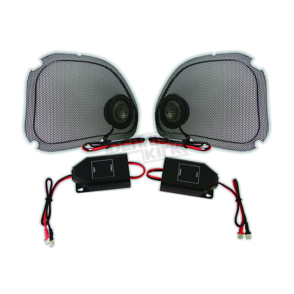 Hawg Wired Steel Mesh Speaker Grills w/Tweeters Kit - RG5254 | eBay