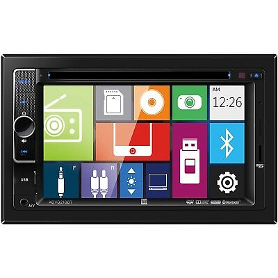 NEW Dual Double 2 Din XDVD210BT DVD/CD/MP3 Player 6.2