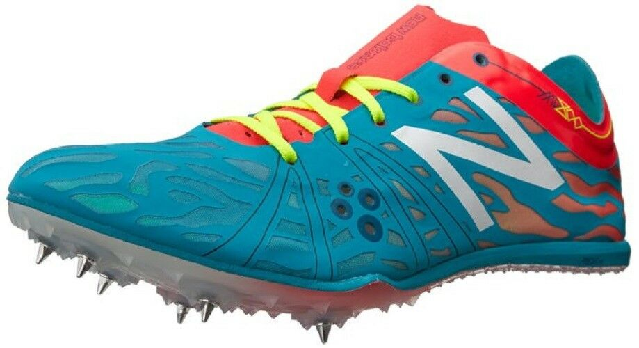 NEW BALANCE Phantom Fit Women Track Shoes Size 10B Blue Pink Yellow WMD800N3