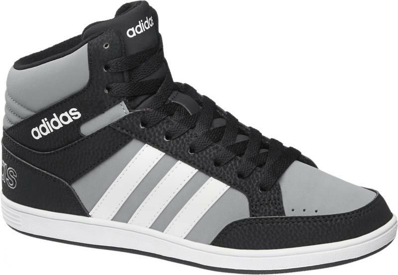 New Adidas NEO BOYS/GIRLS TRAINERS /high tops/HOOPS MID K/sneakers