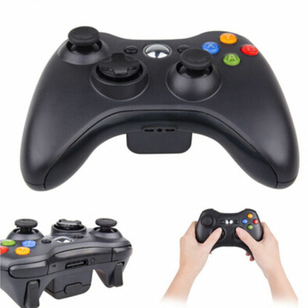 JOYSTICK JOYPAD XBOX 360 X360 WIRELESS SENZA FILI WIFI COMPATIBILE CONTROLLER DS