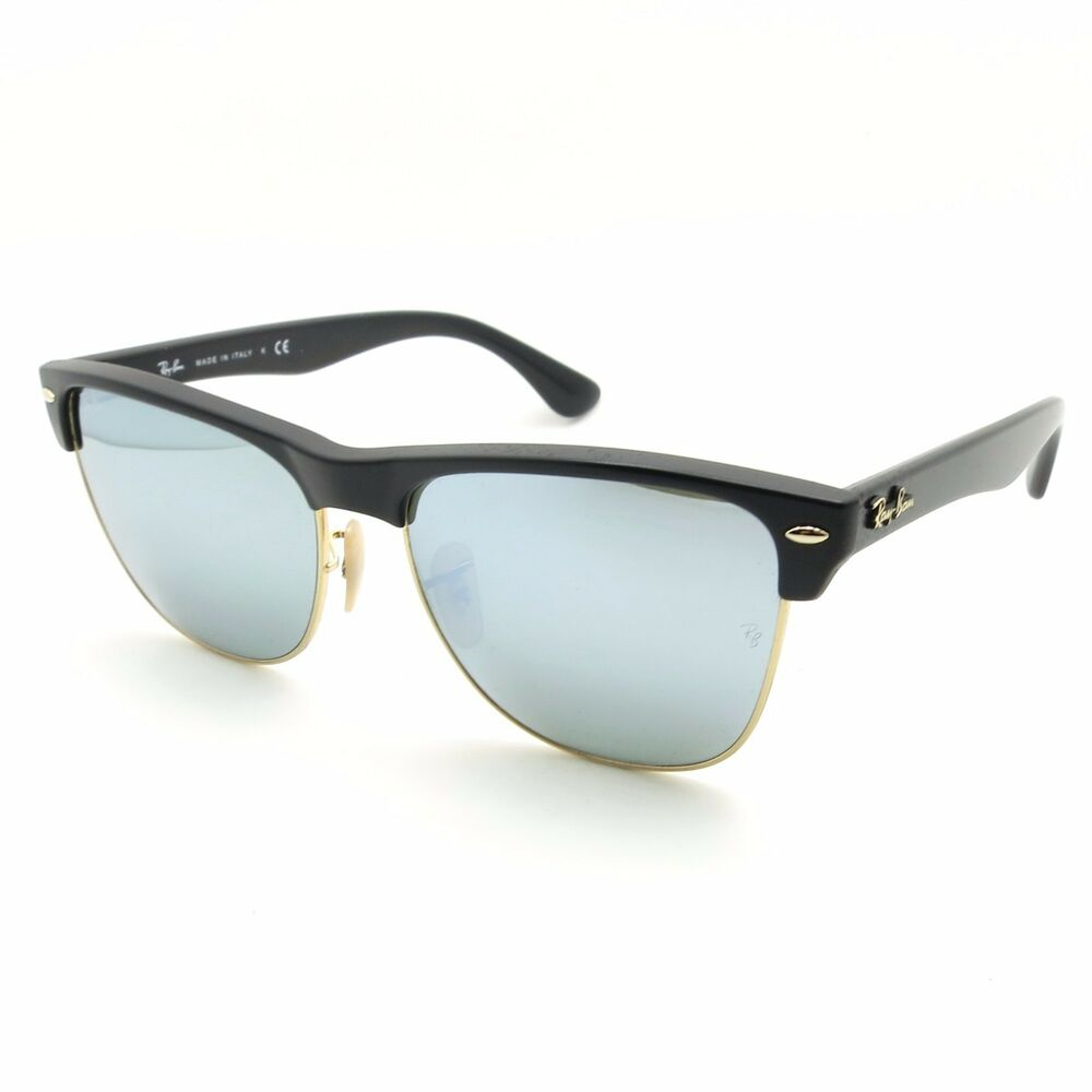e0ea1dd000e8c Details about Ray Ban 4175 877 30 Matte Demi Black Silver Mirror New  Authentic Italy