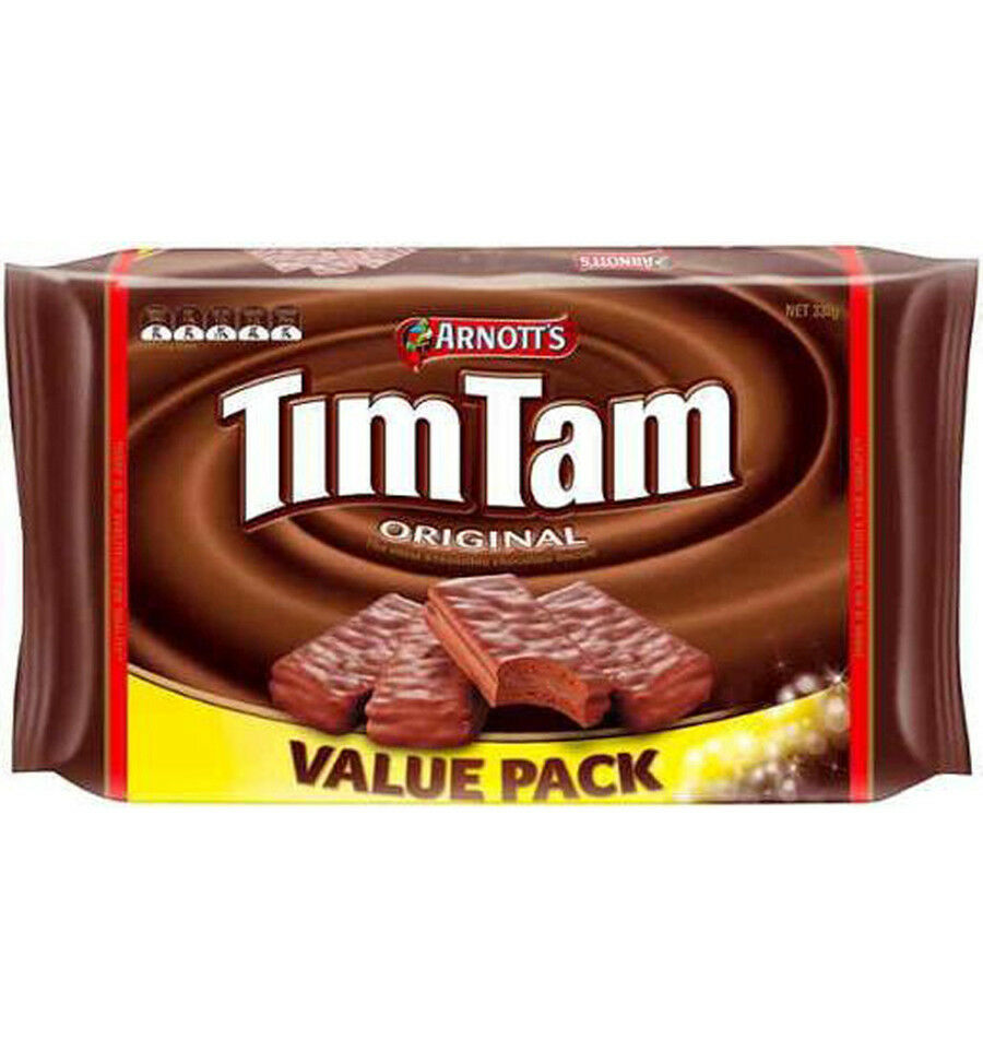 Arnotts Biscuits Chocolate Tim Tam Value Pack 330gm 9310072027456