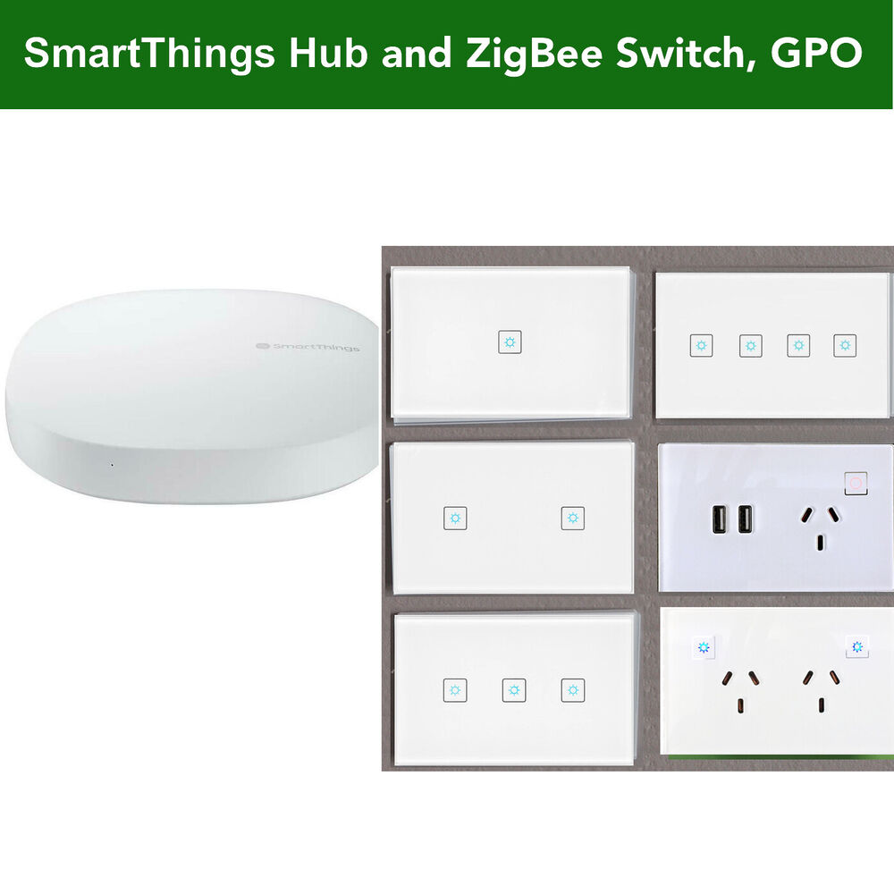 au nz smart zigbee 3 0 socket for wireless google home mini alex automation ebay. Black Bedroom Furniture Sets. Home Design Ideas