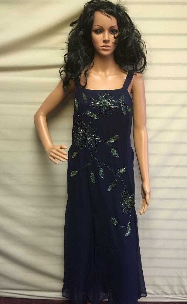 63ea351124a Details about Ladies Party Dress by Simply Be Joanna Hope Size 14 UK  Midnight Blue Wedding