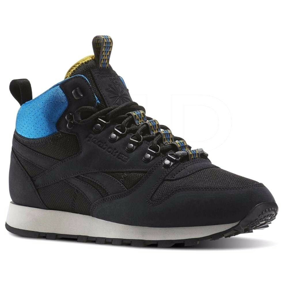b0f71eab6b7eb6 Details about Reebok Classic Leather Mid Trainers