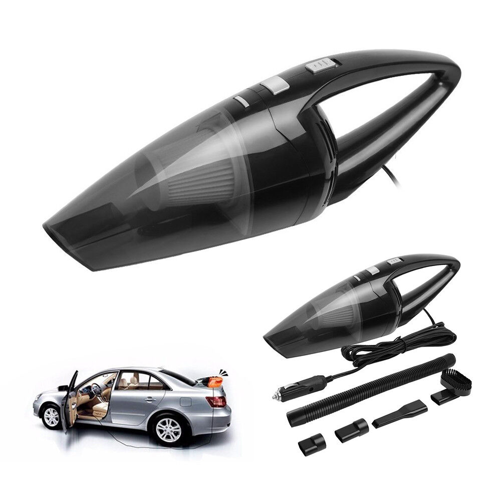 vacuum cleaner for car dry wet dust dirt cordless handheld hand mini portable ebay. Black Bedroom Furniture Sets. Home Design Ideas