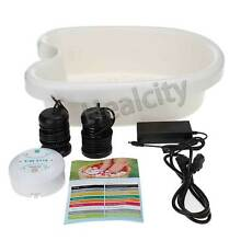 HEALCITY® Ion Ionic Foot Detox Machine Foot Bath Spa Cell Cleanse with 10 Liners
