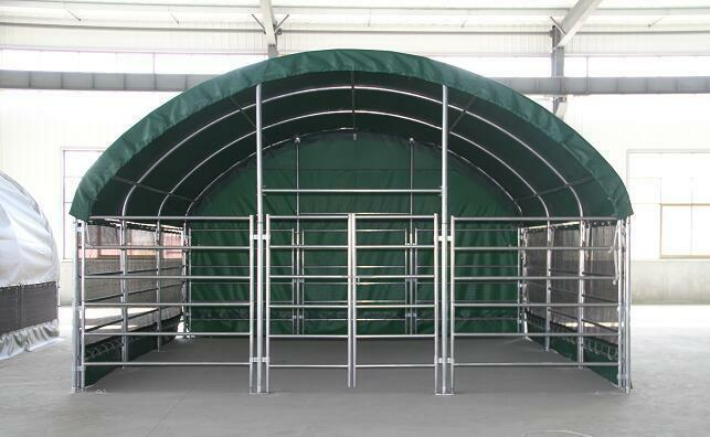 Portable Cow Shelters : Livestock shelter sheds farm storage building horse sheep