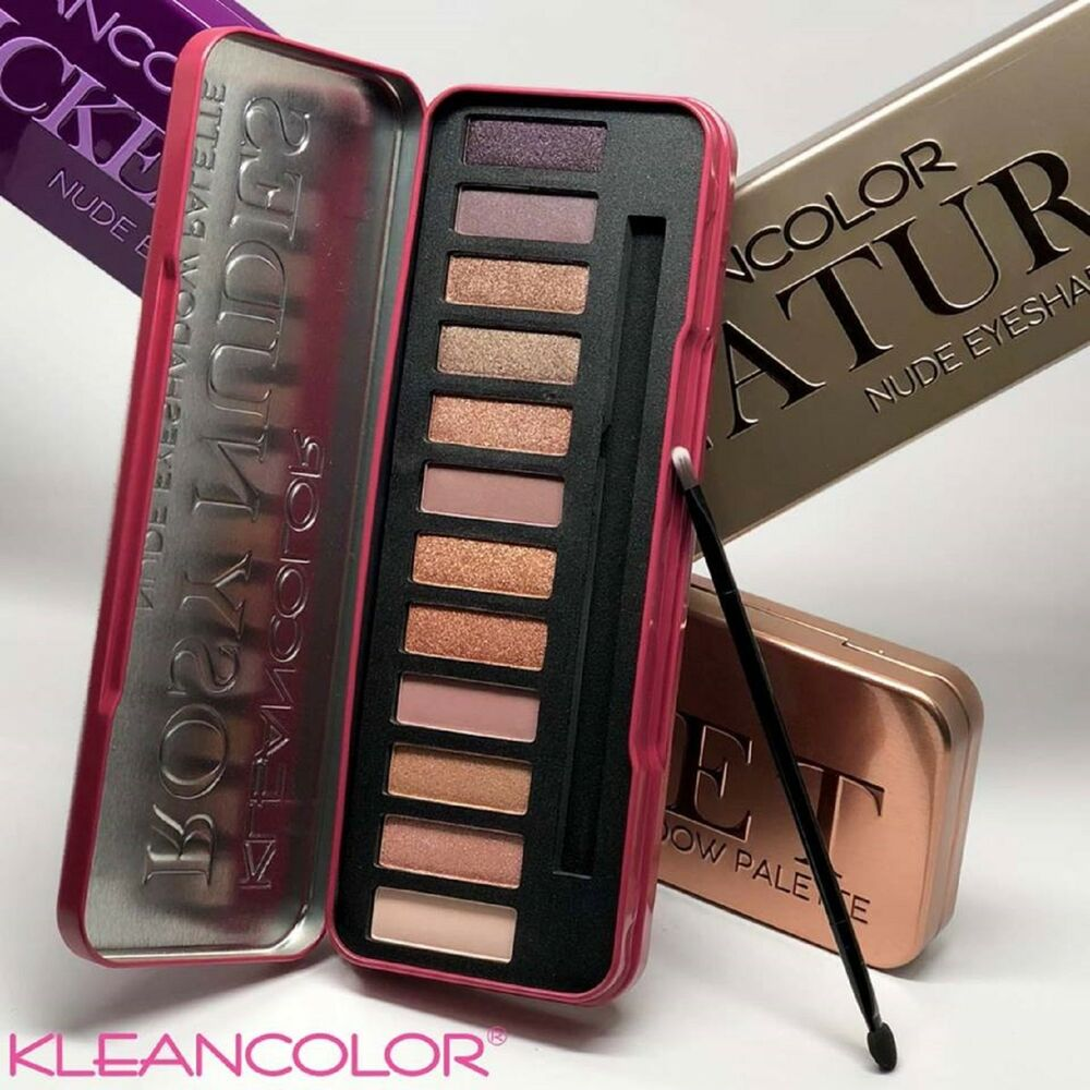 Beauty Rose Gold Colors Textured Eyeshadow Palette Makeup ... - photo #15