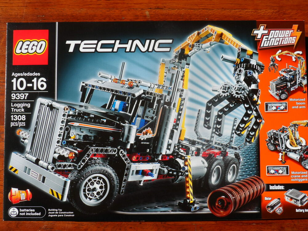 brand new and factory sealed lego technic set 9397 logging truck 5702014837515 ebay. Black Bedroom Furniture Sets. Home Design Ideas