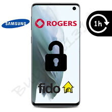 ROGERS OR FIDO SAMSUNG GALAXY UNLOCK CODE - ANY MODEL - 1 HOUR OR LESS