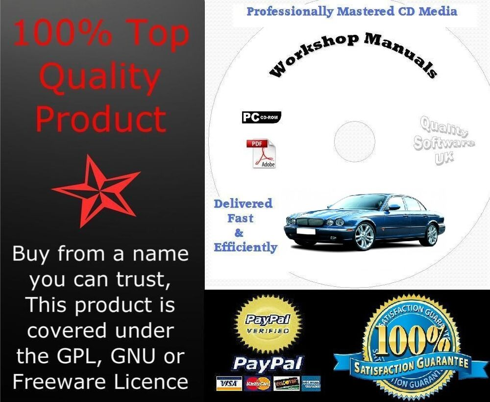 JAGUAR XJ8 XJR X308 1997-2003 WORKSHOP SERVICE REPAIR MANUAL On CD | eBay