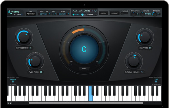 antares auto tune pro pitch correction software electronic download