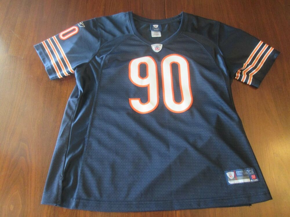 dc3ea7c80463 Women s REEBOK Julius Peppers  90 Chicago Bears OnField NFL Jersey Stitched  Sz L