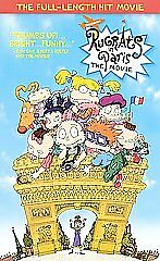 Image Is Loading Rugrats In Paris Vhs 2001
