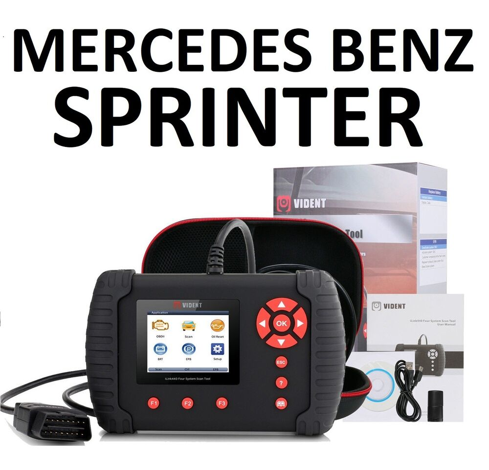 Mercedes Benz Sprinter Diagnostic Scanner Tool Abs Code