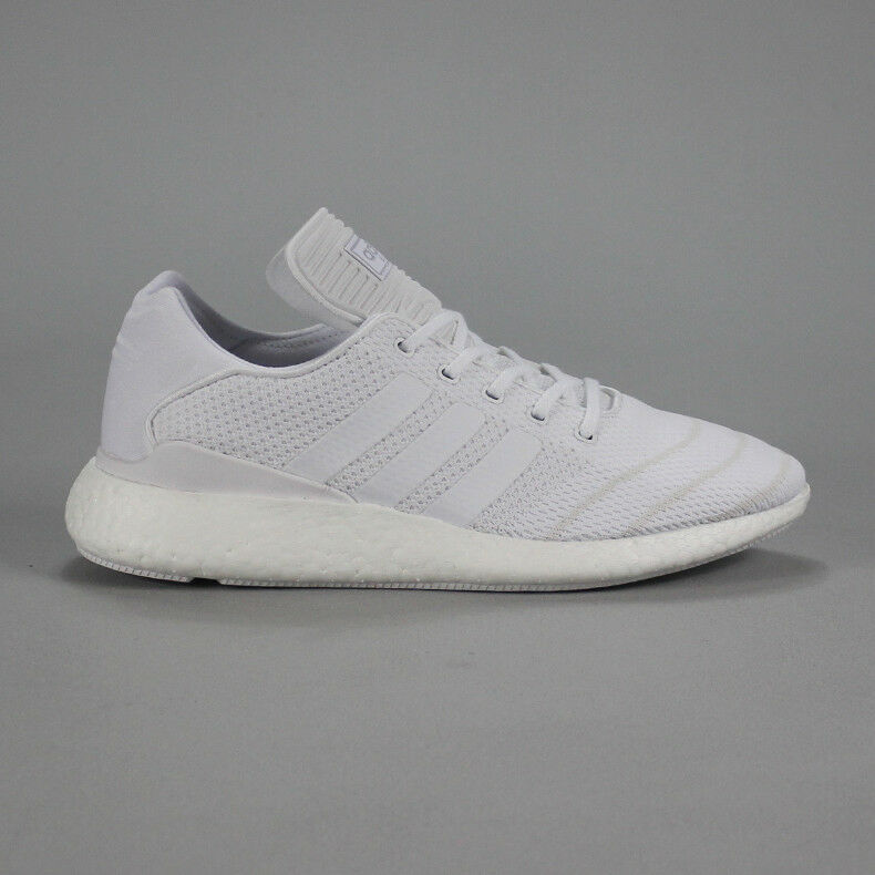 bb4e3324d Adidas Busenitz Pure Boost Skate Trainers Shoes in White UK Size 7