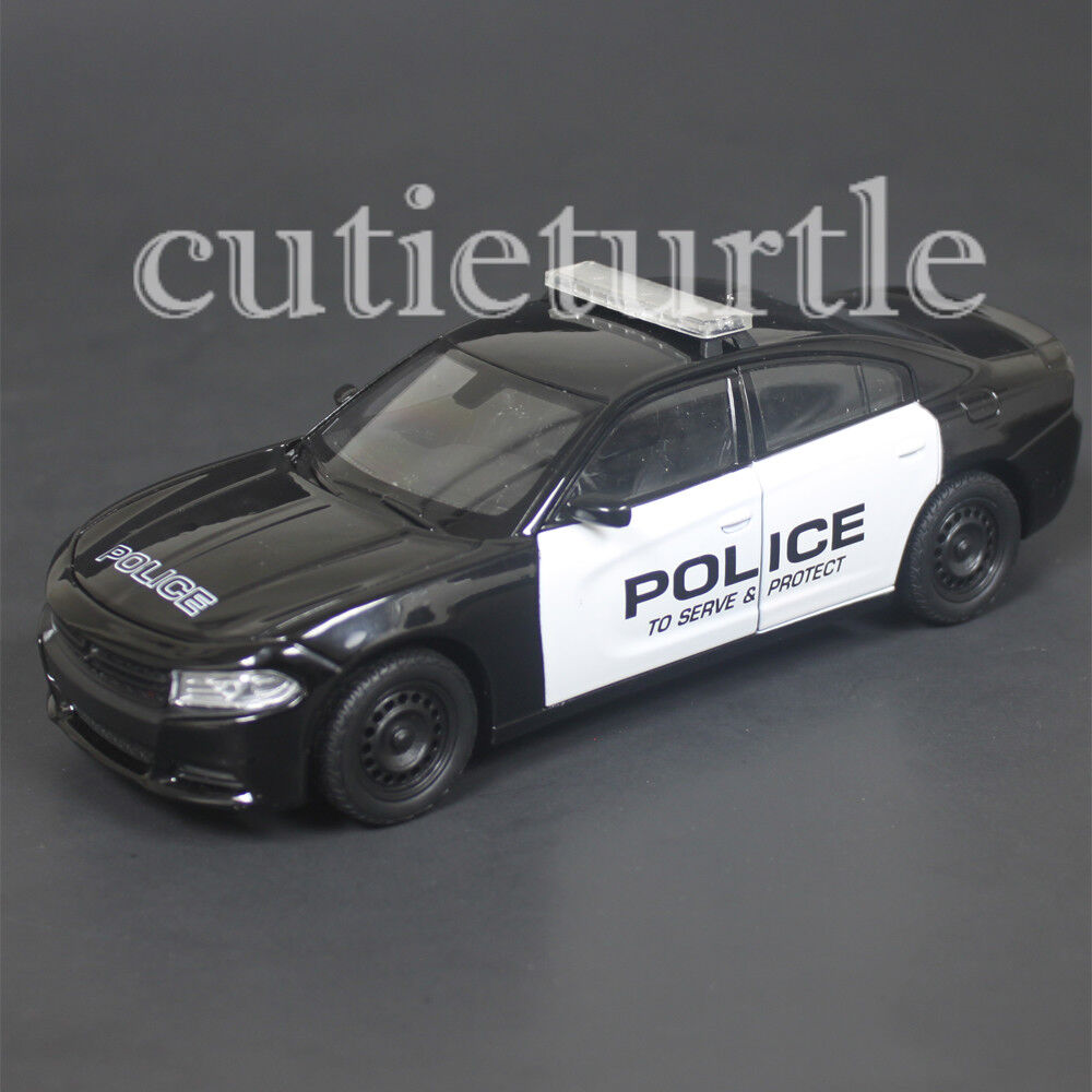 Welly 2016 Dodge Charger R/T Police Car 1:24 Diecast Model