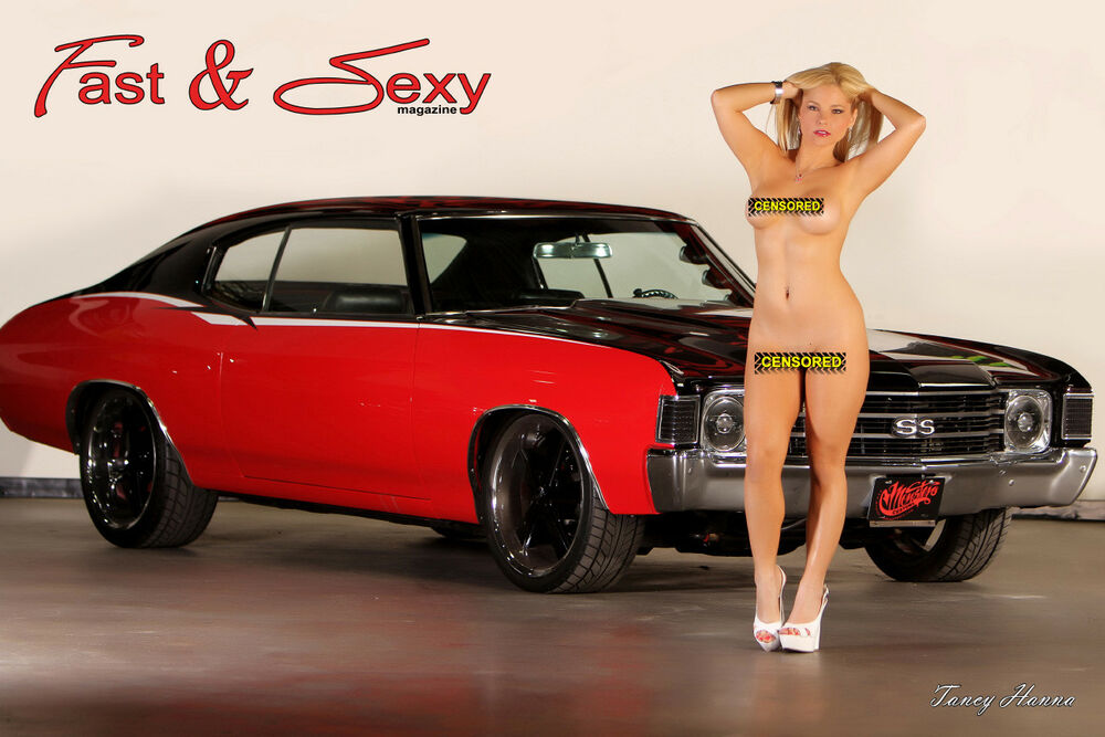 Nude chicks on muscle cars possible fill