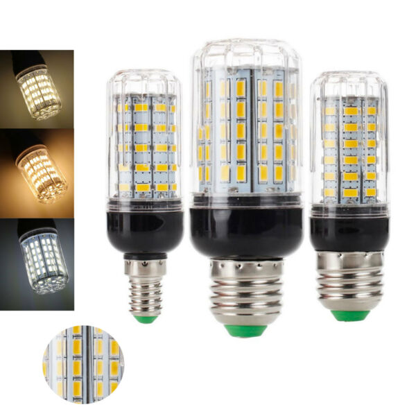 LED Corn Bulbs E27 E14 B22 5730 SMD 9W 12W 15W 20W 25W 30W 35W Lights White Lamp